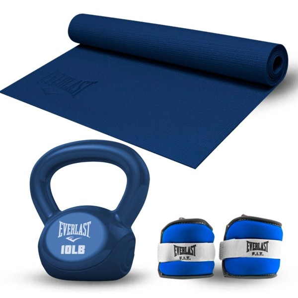 TRAINING KIT 26 MAT+KETTLEBELL 10LB+PESA PARA TOBILLO